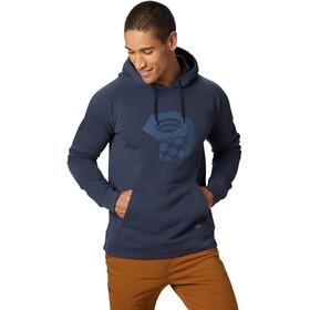 Mountain Hardwear Hardwear Logo Bluza Mężczyźni, dark zinc